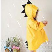 レインコート 子供 恐竜 可愛い 男女兼用 梅雨対策 レインポンチョ レインウェア 雨具