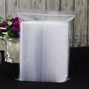 透明 チャック付きビニール梱包素材袋100枚入激安 約22cm*32cm