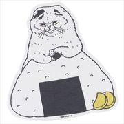 《コレクション》世にも不思議な猫世界 クロス素材ステッカー/もんじゃさん KORIRI