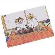 《コレクション》世にも不思議な猫世界 クロス素材ステッカー/愛の巣 KORIRI