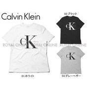 【カルバン クライン ジーンズ】 41QK961 Tシャツ ショートスリーブ リイシュー ロゴ 全3色 メンズ