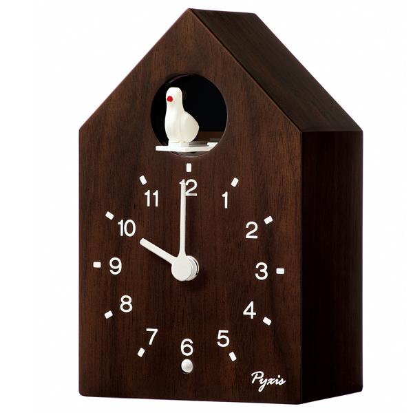 【新品取寄せ品】 セイコー製 ピクシス かっこう時計 掛け置き兼用 NA609B