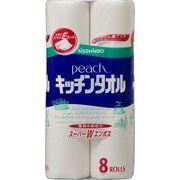 ピーチキッチンタオル 8R 【 大王製紙 】 【 キッチンタオル 】