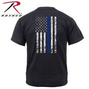 ROTHCO ロスコ ツイン・ブルーライン Tシャツ USA直輸入