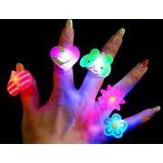 発光指輪★おもちゃ 発光リング