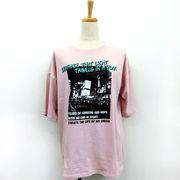 【2018春夏新作】20/-天竺 フォト Tシャツ(キャップ付き)