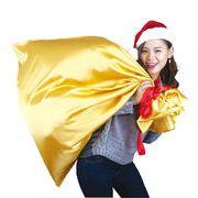 BIGなゴールドプレゼント袋