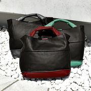 バイカラーが可愛い牛革2WAYバッグ (g-1810)本革 ショルダーバッグ 斜め掛け レディース ハンドバッグ