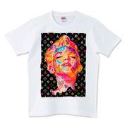 Tシャツ【MARILYN MONROE×Eiffel】メンズ レディース キッズ ストリート サーフ プリント