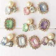 手芸DIY 真珠の花★合金 着物アクセサリー ペンダント ハンドメイド 髪のアクセサリー