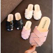 2018年新作【子供靴】★可愛いデザインの子供靴★スリッパ★キッズ★サンダル★3色★サイズ26-30