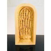 黄楊一杢彫り 十三仏