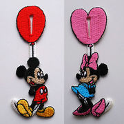 ◆Disney/ボタンアクセサリー【ミッキー&ミニー】!