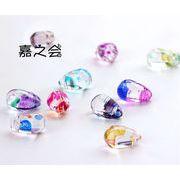 新品初日販売20%OFF♪ ハンドメイド カラーガラス滴 アクセサリーパーツ