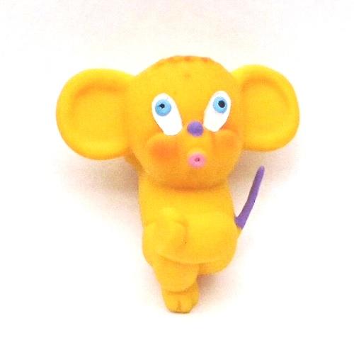 チョコの香りがついたラテックスゴム製・おもちゃ・わんぱくマウス