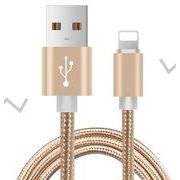 2.0m iPhone用 ケーブル 急速充電 データ転送 USB コード アルミニウム合金コネクタ 激安