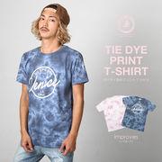 improves ダイダイプリントTシャツ ロゴ クルーネック Tシャツ