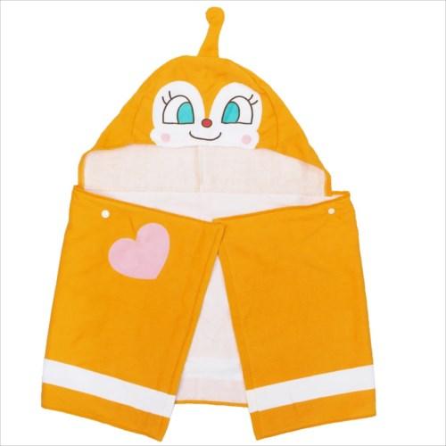 《キッズ》アンパンマン フード付き スポーツタオル/ドキンちゃん