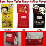 ベティ ブープ トイレットペーパー ホルダー カバー 【3色チョイス】