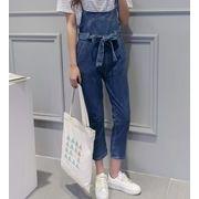 新型★レディース ファッション★レディース サロペット★デニムパンツ