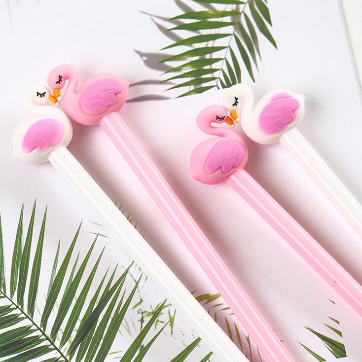 フラミンゴ形 水性ボールペン ゲルインクボールペン