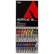 ホルベイン アクリル絵具 アクリリックカラー 18色セット AU993 20ml(6号)