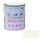 アサヒペン NEW水性インテリアカラー屋内カベ 1.6L シャーベットグリーン×5セット