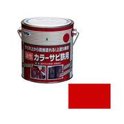 アサヒペン カラーサビ鉄用 0.7L 赤×5セット