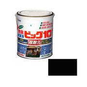 アサヒペン 水性ビッグ10多用途 205黒 1.6L×5セット