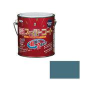アサヒペン 油性スーパーコート 0.7L ストーンブルー×5セット
