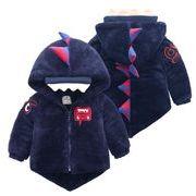 子供コート フワフワコート 女の子 キッズ服 ジャケット 冬 80-110 2色 防寒