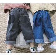 ★秋新品★韓国風★キッズ服 ★可愛いキッズ服★デニムパンツ  80cm-130cm