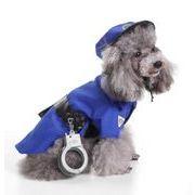 犬服 警察、犯人 ペット服 ペットグッズ 変装 ハロウィン コスチューム コスプレ
