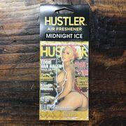 HUSTLERセクシーガールエアフレッシュナー・芳香剤・ミッドナイトアイス(ブラックアイス風)2009-04