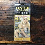 HUSTLERセクシーガールエアフレッシュナー・芳香剤・ミッドナイトアイス(ブラックアイス風)2011-01