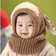 【新作★自社工場】子供ハット 5色 ベビー 赤ちゃん キッズ 帽子  男女兼用 ニット帽