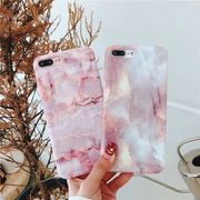 ★大理石 ピンク 可愛い iPhoneX iPhoneXs iPhoneケース