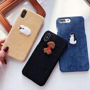 iPhoneXR iPhoneXS MAX iPhoneX 韓国 ユニセックス 可愛い 動物
