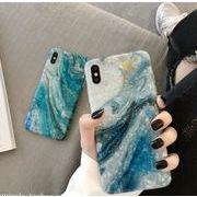 iphone6/7/8/6-8plus/X/XSMAX/XR キラキラ タイダイ マーブル