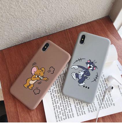 iphoneXsMAX X トムアンドジェリーXR Xs 8plus 7 6plus ケースiphone11Promax