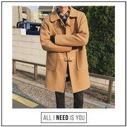 アウターチェスターコート 秋冬用 ビジネス 紳士 通勤 メンズ トレンチコート ジャケット ラシャコート
