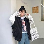 秋冬新商品730004 大きいサイズ 韓国 レディース ファッション ワンピース パーカー
