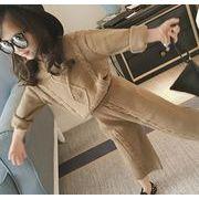 新入荷!!キッズファッション★★セーター 2点セット トップス+パンツ★カジュアル