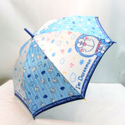 【雨傘】【ジュニア用】55cmドラえもんキュート柄ジャンプ傘