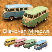 【1962 VW Classical Bus (Pastel Color)1/32(M)】ダイキャストミニカー12台セット★