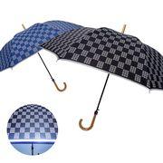[60cm]傘 メンズ 車のライトで反射する傘 ワンタッチ ジャンプ傘 春夏新作