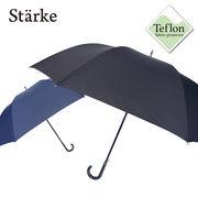 [80cm]大きい傘 紳士 特大 テフロン撥水生地 メンズ