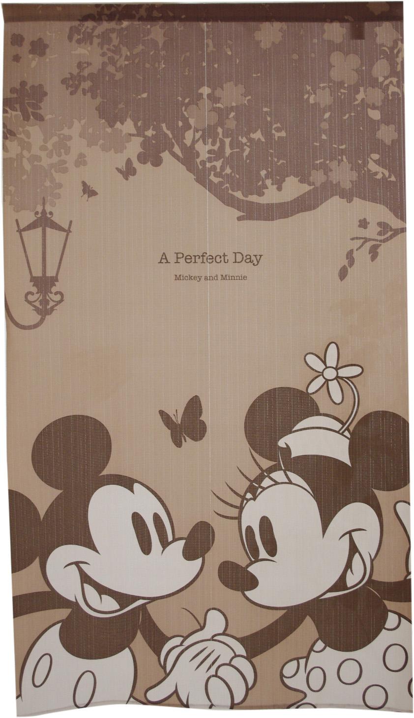 のれん   150cm丈 ディズニー 「A Perfect Day」【日本製】 コスモ 目隠し