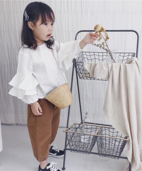 Tシャツ 秋 キッズ服 子供 ブラウス トップス 長袖 パーカー カジュアル系