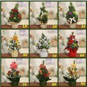新品 ミニクリスマスツリー クリスマスツリー クリスマスのデスクトップ クリスマスツリーの装飾品